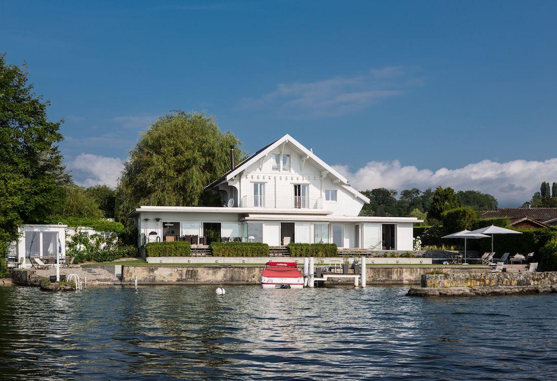 Maison au bord du Lac, Céligny 11